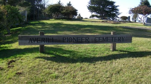 Averill Pioneer Cemetery, where Lord Bennett is buried.