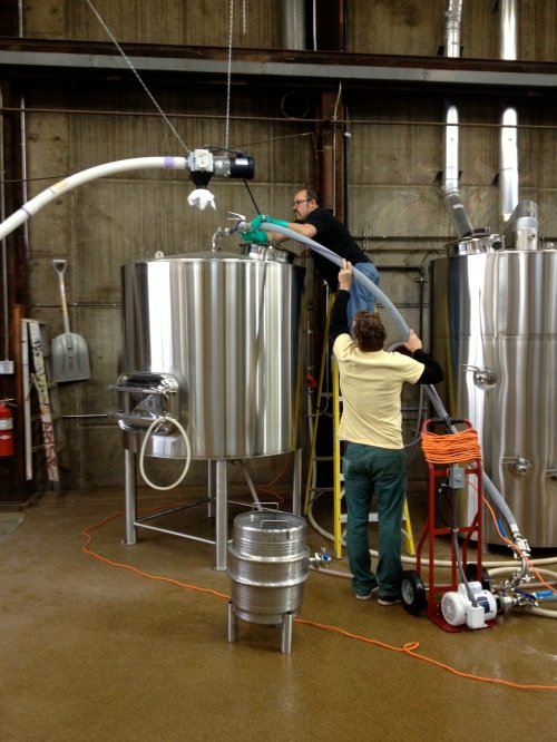 Moving the wort