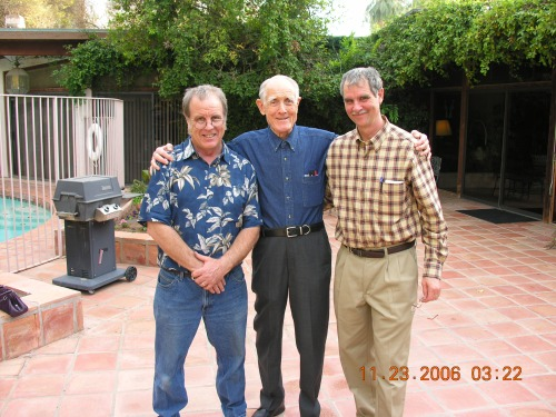 November 23, 2006...This was taken at Thanksgiving with his two sons.