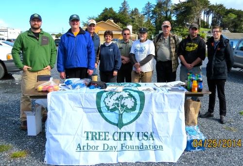 April 25 is declared Arbor Day in Bandon, Oregon