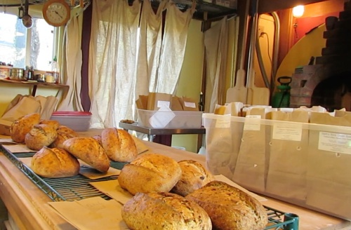 I had breakfast and returned to see the bread all sorted for deliveries.