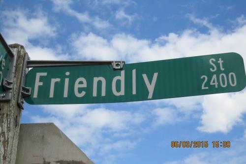 Friendly Street, Eugene, Oregon.