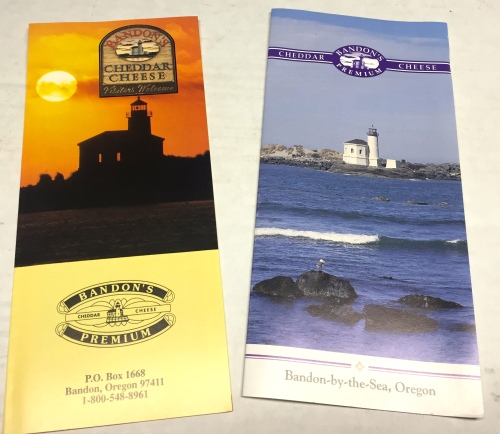 My photos of the Bandon Lighthouse make their way into brochures that I print on my own press.  What a heady feeling.