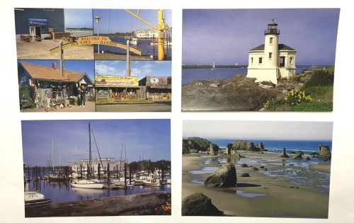 I had my own line of postcards.