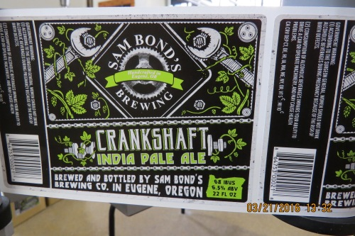 51 Crankshaft IPA label, 3-21-16