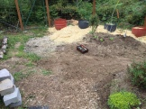 Here's an 'in between' shot, some weeding done, some still to go.
