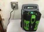 3518 Charging off solar,7-4-16